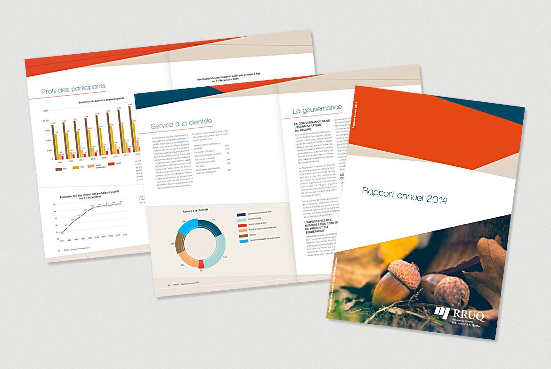 Laro section édition. Projet RRUQ, rapport annuel 2014