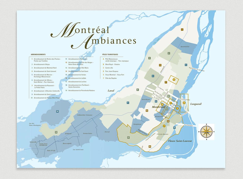 Laro cartographie Montréal